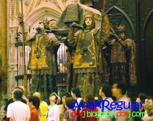 8. Lokasi Jenasah Christopher Columbus